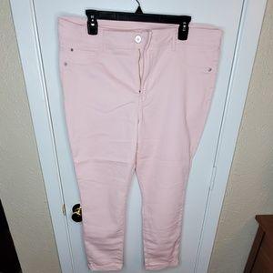 Pink Skinny Jeans